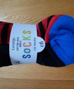 medium-Носки George набор из 10шт. р-р 7-10 лет
