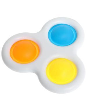 medium-Игрушка развивающая «Симпл Димпл», тройная, цвет М